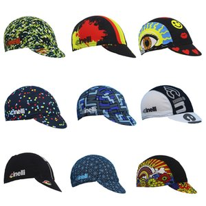 Classic NEW Cycling Caps Men And Women Cycling Headdress Free Size Breathable 9 Style Bike Wear Hat