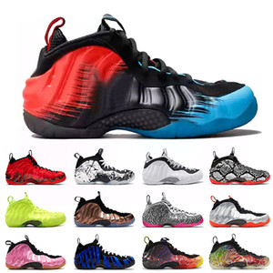 Nike Air Foamposite One Pro Penny Hardaway 2020 Herren Basketball Schuhe USA Gym Red Doernbecher CRIMSON Pro Volt Memphis Tiger Turnschuhe Trainer Männer