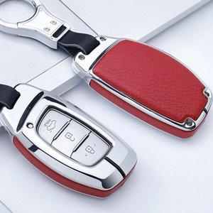 Aplicable clave moderna cubierta móvil LED nuevo movimiento Nombre figura ix35 Tucson Ix25 Sonata 9 Auto clave Shell Bolsa Ff8O #