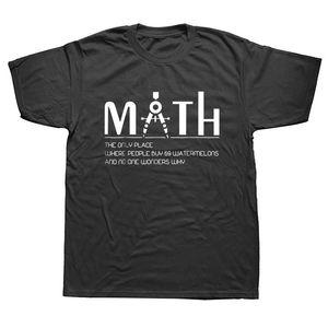 T-shirts pour hommes T-shirt de mathématiques drôles t-shirts imprimés t-shirts en coton à manches courtes TOP TEE print t-shirt