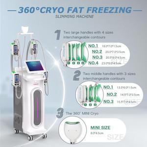 Cryolipolysis fat freezing machine vacuum Slimming Machine with 5 cryo handles hot selling beauty salon equipment