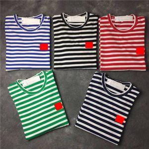 2020 New Mens camisetas Preto design branco das mulheres Coin Mens estilista da forma camisetas Top Casal manga curta S-XXL
