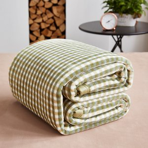 Plaid Blanket 150x200cm, 180x200cm, 200x230cm Thick Spring Autumn Blanket for Single Double Bed XF765-5