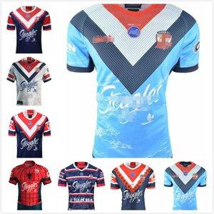 2020 시드니 수탉 ANZAC 저지 원주민 럭비 유니폼 럭비 리그 호주 시드니 수탉 럭비 리그 셔츠 스포츠