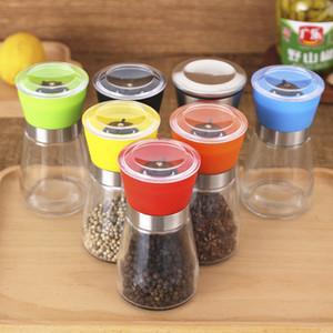 Руководство Фасоль Кофемолки Sharp Основные мельницах стекла истиранием Ароматизатор специй Бутылки Pepper Bottle Мути цвета 2 7xya C2