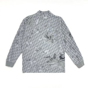 20 years autumn and winter new sweater imported from Germany airport knitting upper body effect is very good, men and women of the same 300