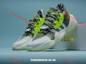 xshfbcl New large size 40~46 Harden 4th generation boots, comfortable foot cushioning, low-top basketball shoes, men's casual sports shoes
