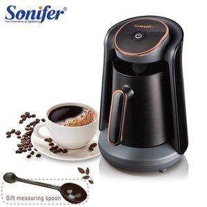 800W Автоматическая Турецкий чайник машина Аккумуляторный электрический кофейник Food Grade Мока кофе чайник для подарка 220 Sonifer
