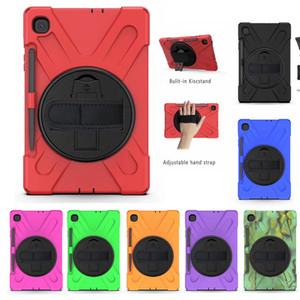 Samsung Tab S6 Lite 10.4 P610 P615 2020 T307 T540 T560 T510 T720 T387 P200 T390 T710 T377 T380 T590 Shockproof CASE Holder hand strap CRE01