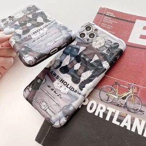 Luxe Téléphone Designer Case pour iPhone 11 2019 Nouveau / 11Pro / 11Pro MAX XR XSMAX X / XS 7P / 8P 7/8 de haute qualité avec Marque Doll Retour ÉTUI couverture