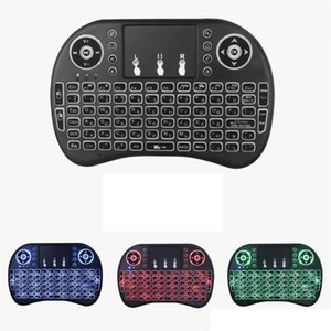 Rii I8 Fly Air Mouse Mini Wireless Keyboard 2.4GHz Touchpad Kyeboard with backlight Remote Control
