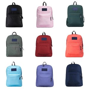 Canvas Women Backpack Big Capacity School Bags For Teenagers Dot Printing Backpacks For Girls#5711