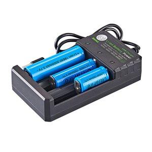 متعددة الوظائف 18650 USB شاحن 3 فتحة بطارية ليثيوم أيون الطاقة ل3.7V 26650 10440 16340 16650 18350 18500 قابلة للشحن بطارية ليثيوم