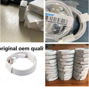 2020 DHL 100pcs ix generations Original OEM quality 1m 3ft USB Data Sync Charge phone Cable With retail package NEW-11