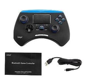 PG-9028 Holder ile Kablosuz Gamepad Bluetooth Game Controller ile Dokunmatik Oyun Konsolu İçin Android IOS Telefon TV Box Joystick