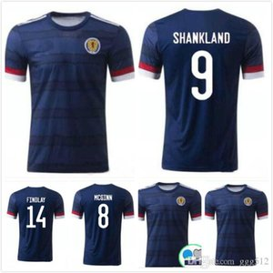 KIDS KIT 2020 Scotland Soccer Jerseys 20 21 Scotland home BOBERTSON 2 FRASER 11 ARMSTRONG 18 BURKE 9 CcGREGOR 10 FORREST mens football shirt