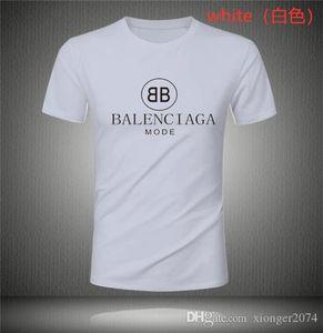 Balenciaga Spazio tshirt T-shirt retrò Camicie Uomo Cotone Stampa T Shirt manica corta T-shirt mens di usura di estate del progettista magliette