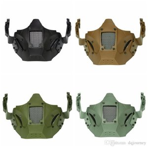 Men Airsoft Bike Mask New Mascara Outdoor Balaclava Winter Mask MA-95 Tactical Iron Warrior Half Face Mod