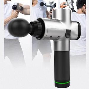 DHL Myofascial Physiotherapy Instrument Mute Touch Screen Fascia Gun Massage Gun Electric Warp Film Impact Relax Gun Deep Massager