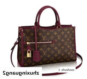 Popincourt Pm M43462 Mulheres Shows ombro Totes Bolsas Handles Corpo Cruz Messenger Bags