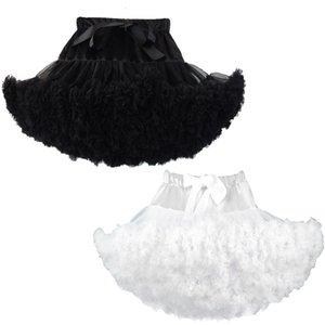 Tutu Parti Etekler Kadın Petticoat Etek Jüpon Kadın Prenses Katmanlı Puff Etek Tutu Kısa Petticoat Kız