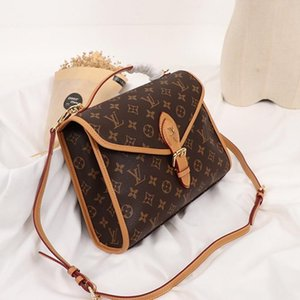 High Quality Womens Bag Vintage Fashion Leather Shoulder Small Flap Crossbody Handbags Top Handle Totes Sac Bandouli èRe Sale Fast Delivery