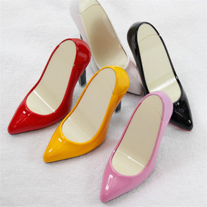 Funny Creative Compact Jet Butane Lighter Inflated Gas Decorate High heels Lighter Bar Cigarette Accessories NO GAS