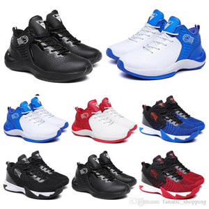 Men Basketball Shoes Black White Blue Red Mens Trainers Chaussures Fashion Athletic Outdoor Jogging Walking Sports Sneakers 36-44 Style 11