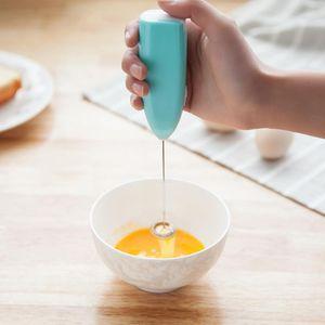 La leche vaporizador eléctrico automático de Crema de café batidora eléctrica Shake mezclador de mano Cappuccino batidor de huevo