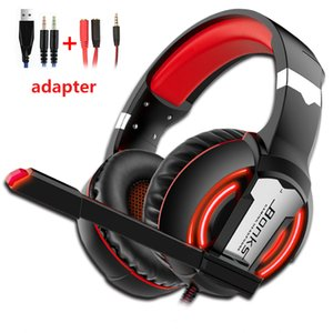 Gaming Headphones PS4 Headset Wired Game Bass Stereo Casque with Microphone For PC New Xbox One Laptop Tablet computer Gamer PS4