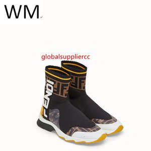 Socks New Speed 2019 Elastic Mesh High Boots Sneakers Dress Shoes Skate Dance Ballerina Flats Loafers