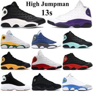2020 Haut Jumpman 13s Chaussures de basket-ball FLINT inverse il a obtenu melo jeu de la classe 2002 de la Cour des entraîneurs sportifs Sneakers aire de jeux violet