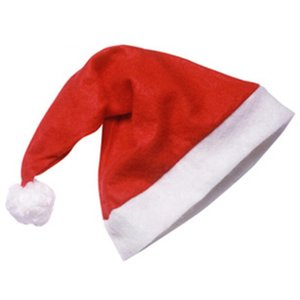200pcs Red Santa Claus Hat Ultra Soft Plush Christmas Cosplay Hats Christmas Decoration Adults Christmas Party Hats LX2373