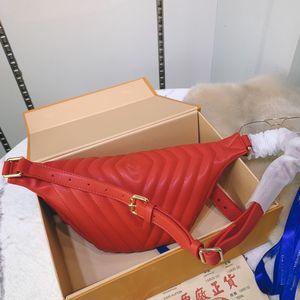 Gerçek deri Dana derisi bel çantası kadın erkek göğüs çanta paketi klasik mektup kemer omuz çantaları crossbody çanta bayanlar fannypack tasarım