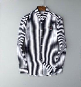 2020 spring and summer new men's long-sleeved shirt cotton shirt men's polo casual sturdy dress men's shirt fashion free shipping
