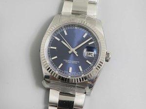Hot Top Waterproof AR Factory 36mm 41mm DATEJUST type log The 126234 series 3135 original movement watch mens watch desinger watches