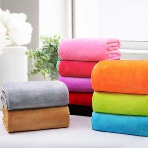 Завод Прямая оптовая фланель Одеяло первого класса Одеяло осень и зима High-End Coral Fleece Blanket на заказ Добавить Box L