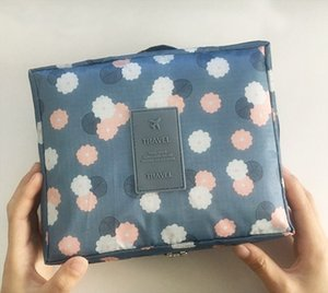 Printed Travel Storage Bag Womens Cosmetic Bag Mens Travel Wash Bag Multi-Function Travel Storage Pouch