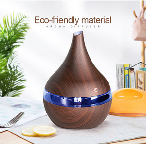 Original NAGOMI 300ml USB Electric Aroma air diffuser wood Ultrasonic air humidifier Essential oil Aromatherapy cool mist maker for home
