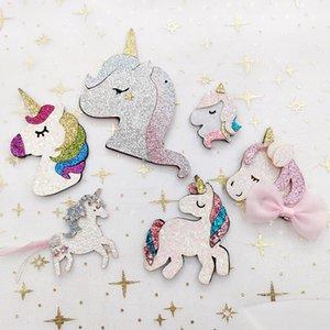 Swift cheval arc bricolage rose chaussures clip cheveux cheveux Unicorn enfants et chapeaux clés accessoires décoration bricolage accessoires porte-clés de la chaîne