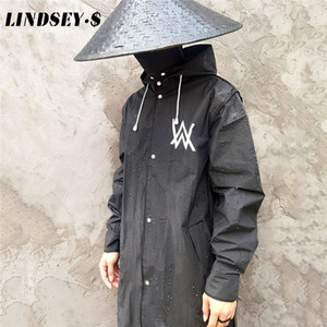 Women Raincoat Men Black Rain Clothes covers Impermeable Rainwear Capa de chuva chubasquero Poncho Waterproof Hooded Rain Coat