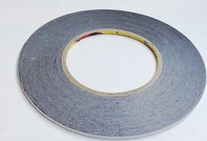 Wholesale-10pcs lot 1MM * 50M Double Sided Adhesive Tape for cellphone LCD Touch Panel frame