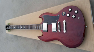 in stock! 2020 Free shipping! wholesale High quality young sg guitars in aged cherry china hardware chrome custom body electric guitar