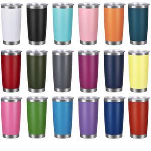 Vino Birra viaggio portauova in acciaio inox Bicchieri 20 once Doppia parete di vuoto di grande capienza Sport Tazze Hot vendita LXL869-2