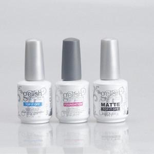 Harmonia de unhas de gel ESTRUTURA Polish Soak Off Limpar unhas de gel LED UV Fundação Top It Off Nail Art Gel Polish QGIO #