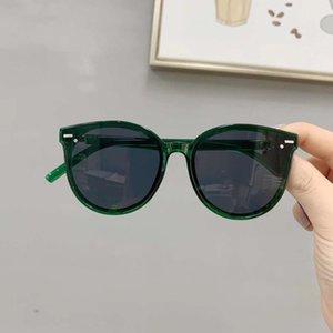 2019 New Internet celebrity rivet sun boys sun and girls Fashion Street racket round frame sunglasses children's sun glasses
