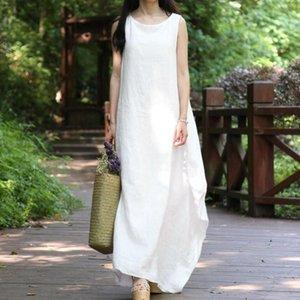 EaseHut maniche maxi vestito lungo delle donne di un pezzo casuale allentata vacanze Large Size abito robe femme estate e Sundress