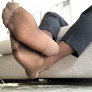 Schlauch-Socken Kleid-Socken für Männer Sheer Exotische Formal Wear Sheer Anzug Männer reizvollen transparenten dünnen Geschäft TNT