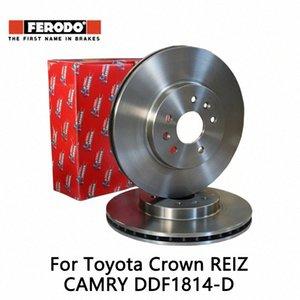 2pieces set Ferodo Car Front Brake Disc For Crown 2.5 3.0 4.3 REIZ 2.5 3.0 CAMRY DDF1814-D 9Ddx#