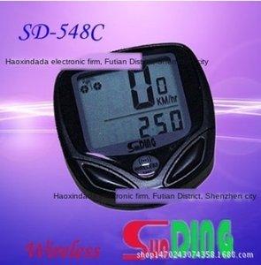 548C bisiklet shundong C su geçirmez telsiz metre / SD-548C / bisiklet kodu metre kodu metre